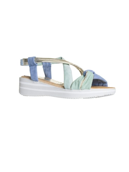 Lujan Gris Sandal Marila Shoes Katie Kerr Women's Clothing