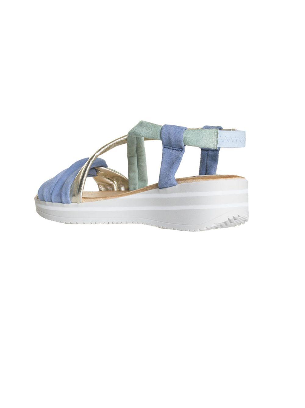 Lujan Gris Sandal Marila Shoes Katie Kerr Women's Clothing