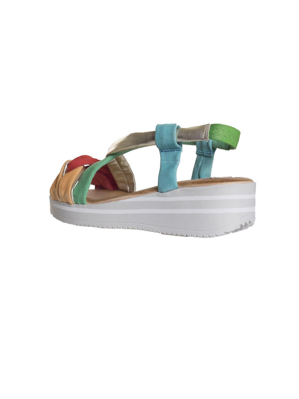 Lujan Gris Sandal Marila Shoes Katie Kerr Women's Shoes