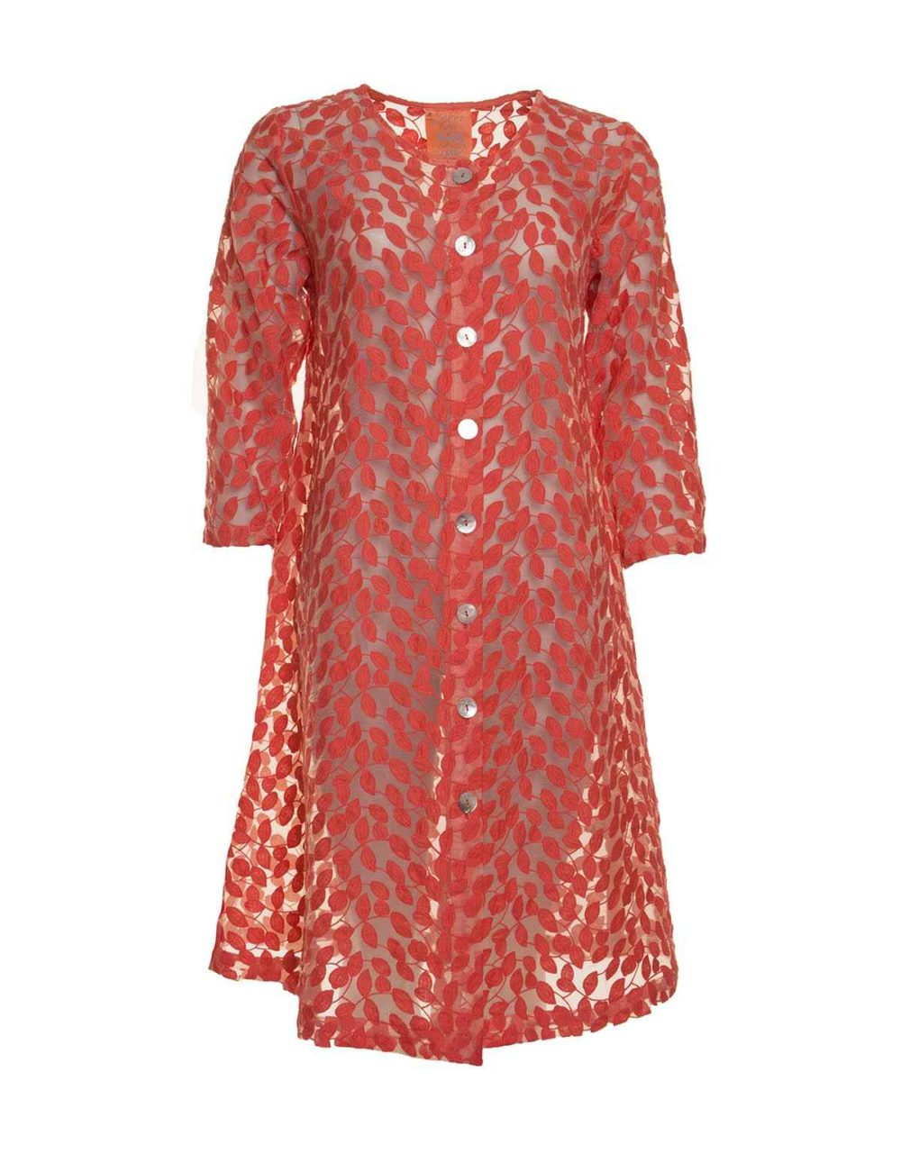 Leaf Embroidery Coat Out of Xile Katie Kerr Women's Clothing