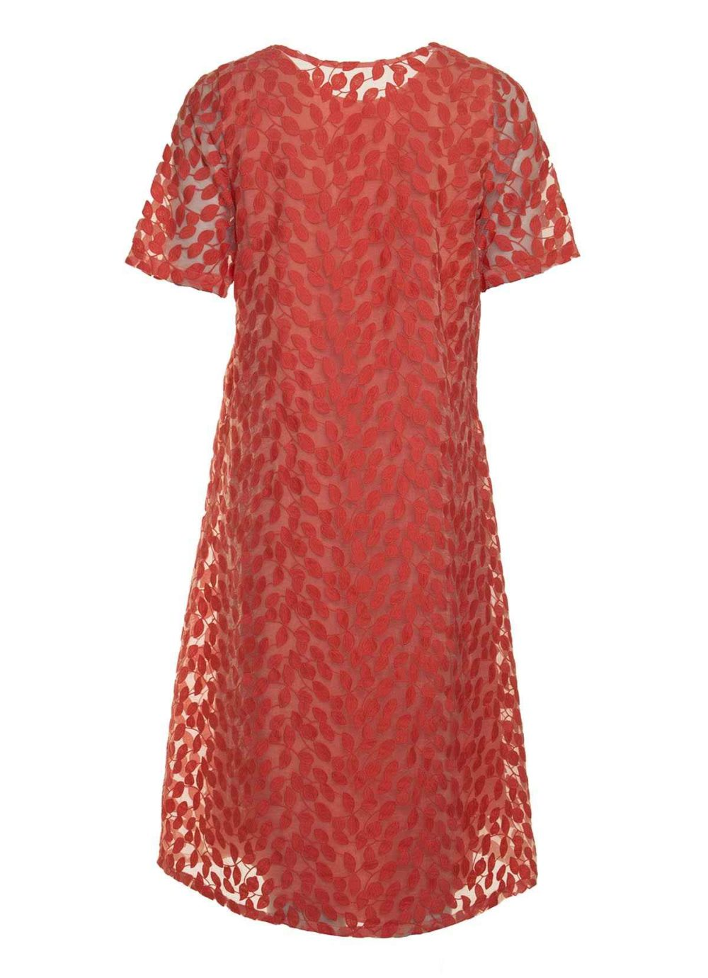 Leaf Embroidery Dress Out of Xile Katie Kerr Women's Clothing
