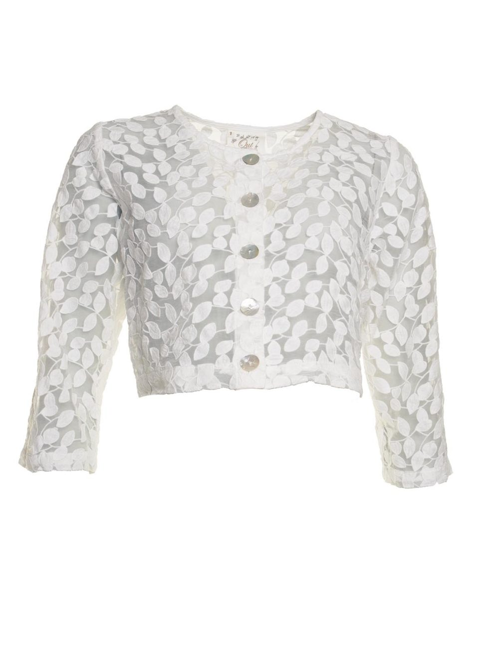 Leaf Embroidery Jacket Out of Xile Katie Kerr Women's Clothing