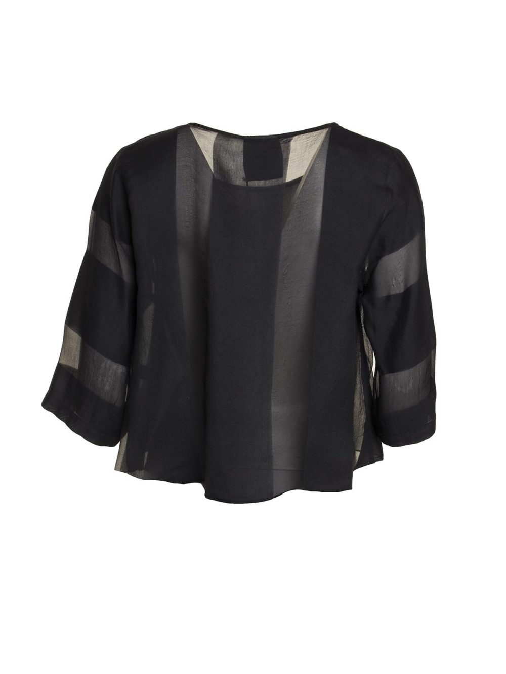 Sheer Wide Stripe Over Top Out of Xile Katie Kerr Women's Clothing