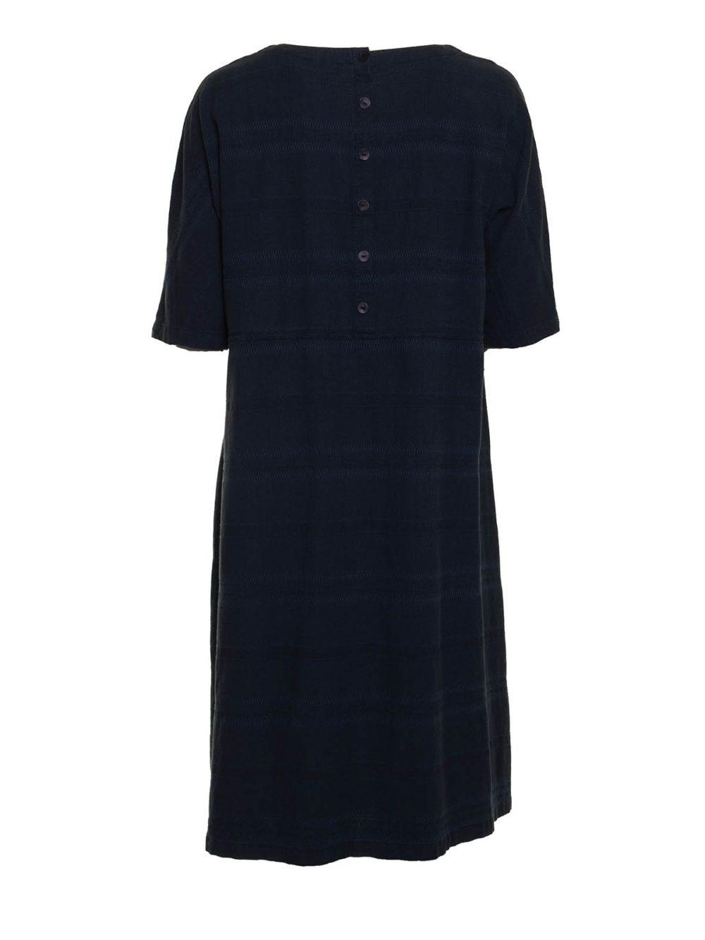 Denim Textured Stripe Dress Sahara Katie Kerr Women's Clothing