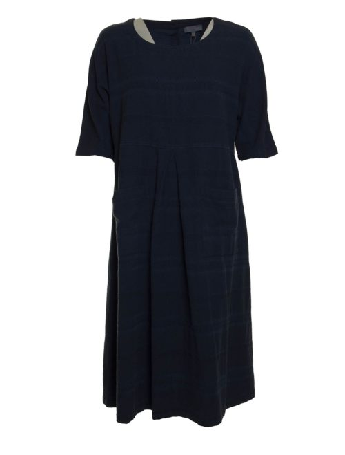 Denim Textured Stripe Dress Sahara Katie Kerr Women's Clothing