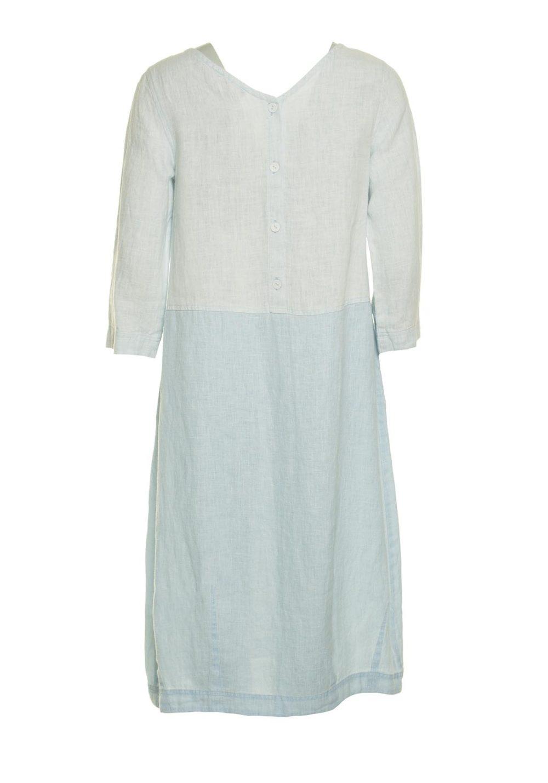 Chalk Linen Bubble Dress Sahara Katie Kerr Women's Clothing