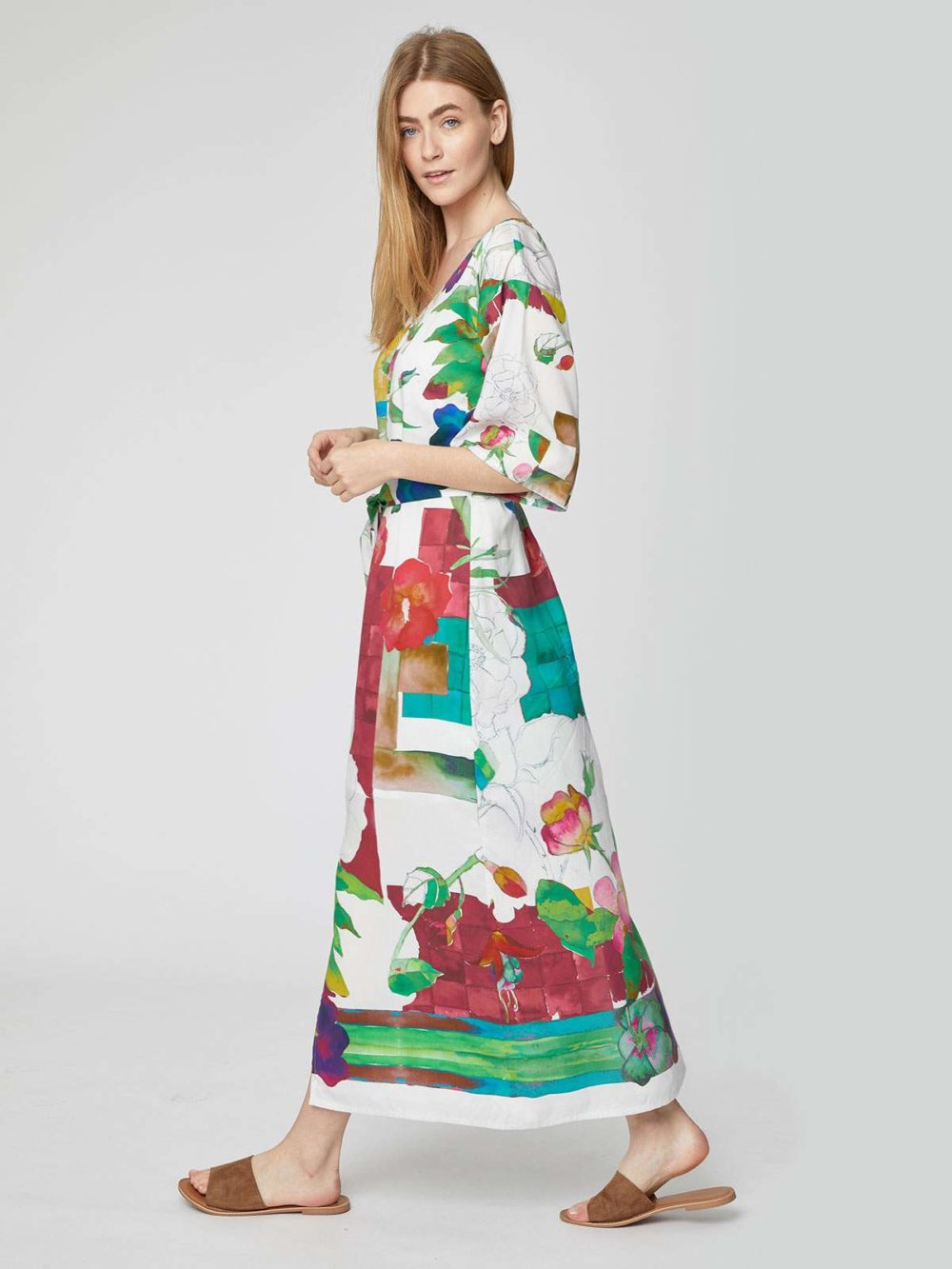 WSD4168 Dominika Maxi Dress Thought Clothing Katie Kerr Women's Clothing
