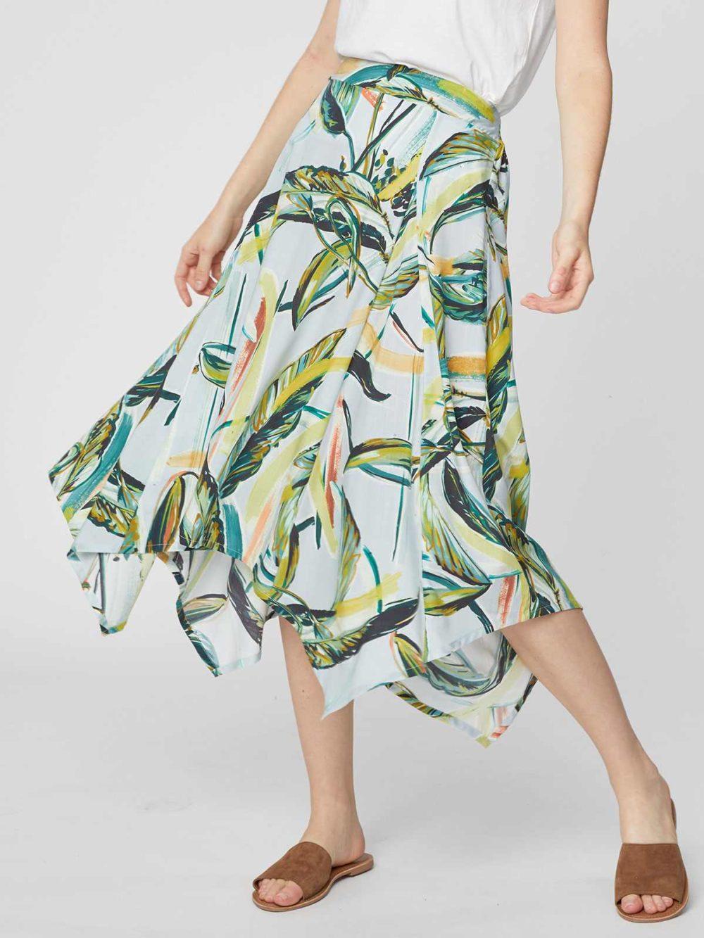 WSB4183 Garabina Skirt Thought Clothing Katie Kerr Womens Clothing