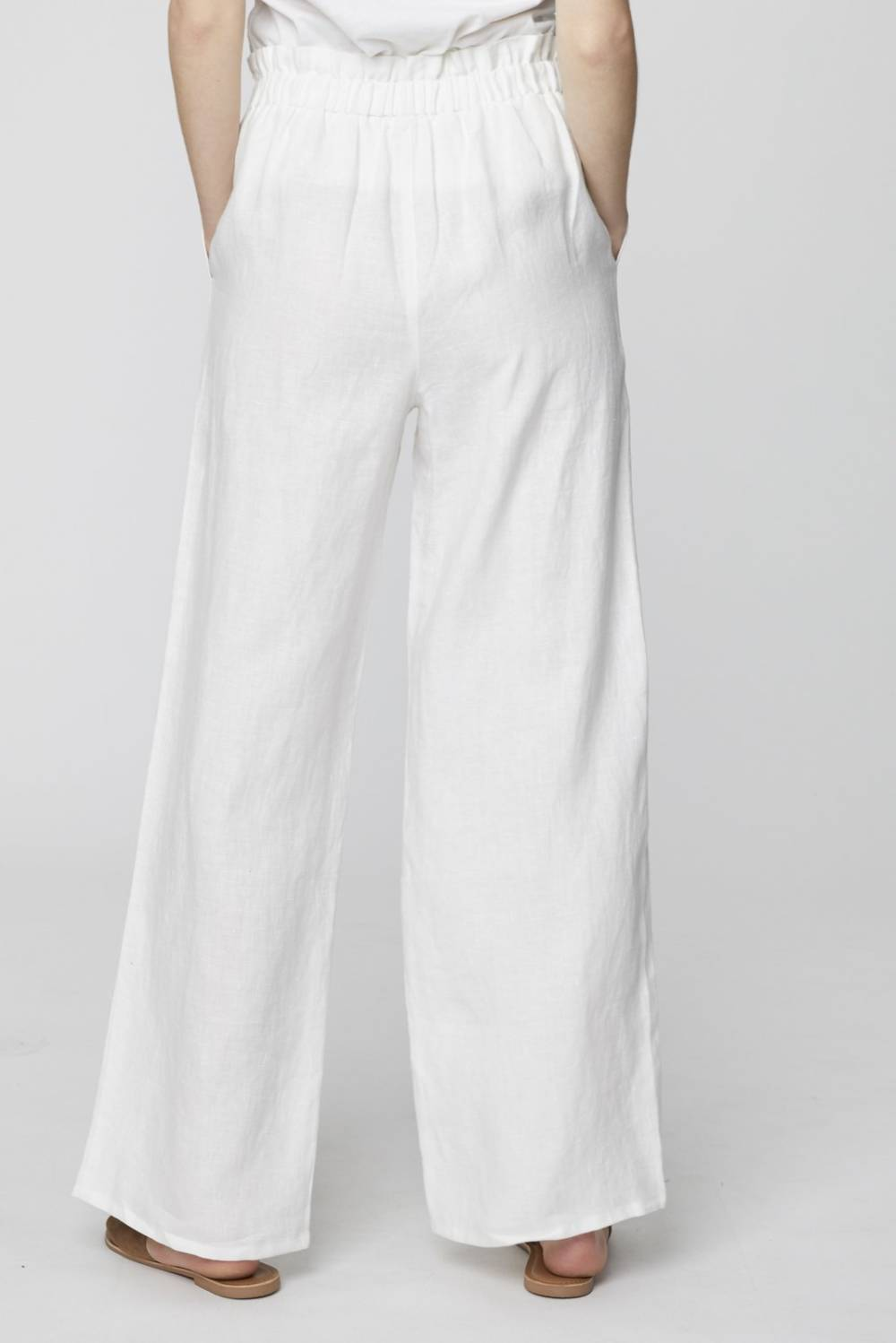 WSB4175 Rosabel Trousers Thought Clothing Katie Kerr Women's Clothing