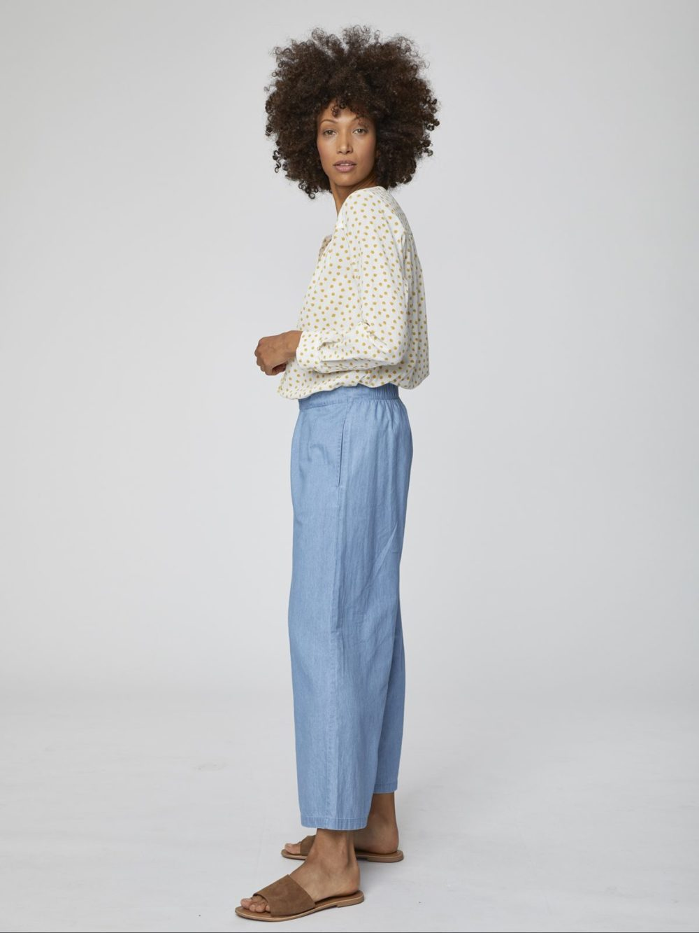 WSB4174 Samara Culottes Thought Clothing Katie Kerr Women's Clothing