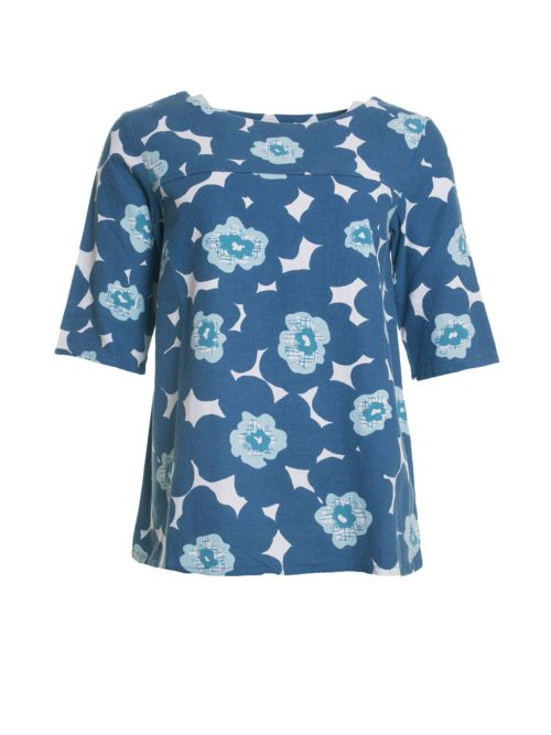 Westward Top Modern Floral Lily and Me Katie Kerr Women's Clothing
