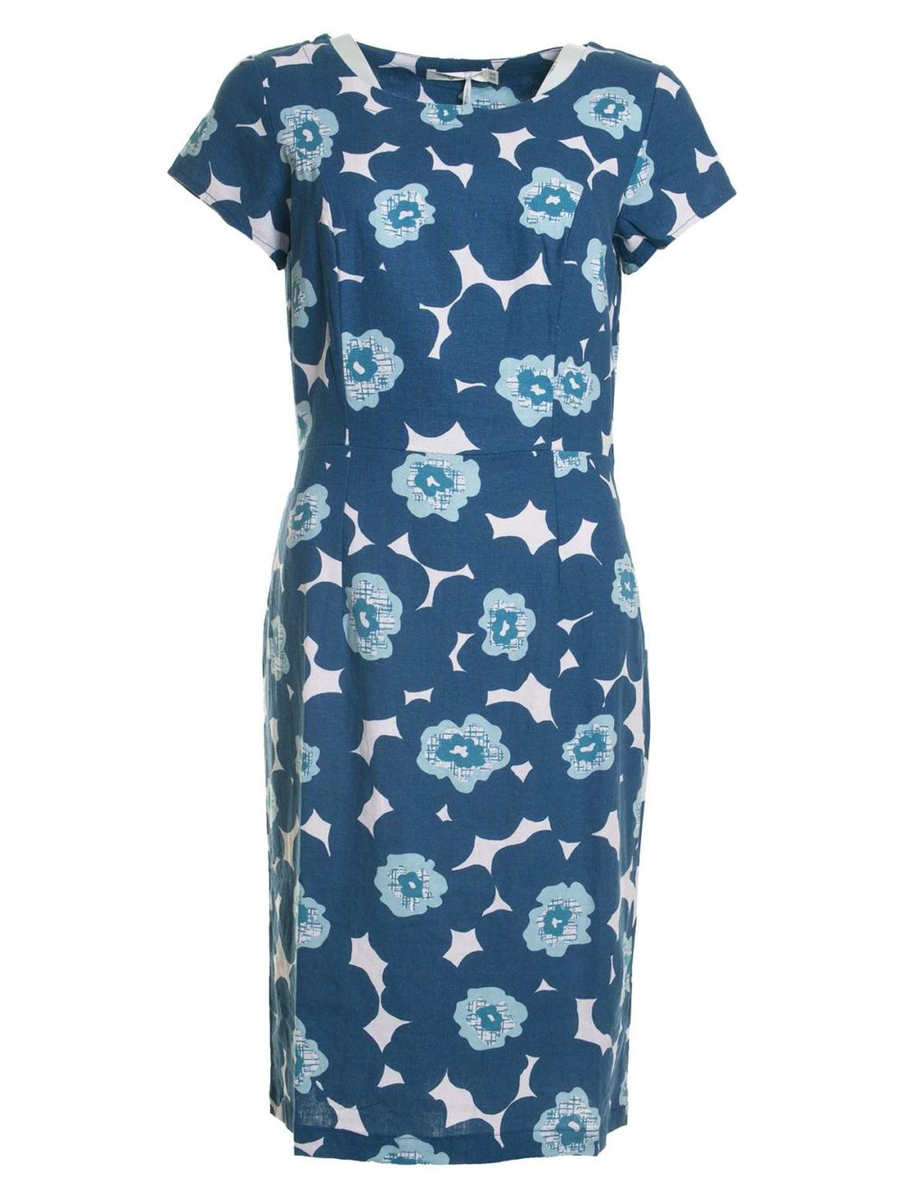 St Austell Dress Modern Floral Lily and Me Katie Kerr Women's Clothing