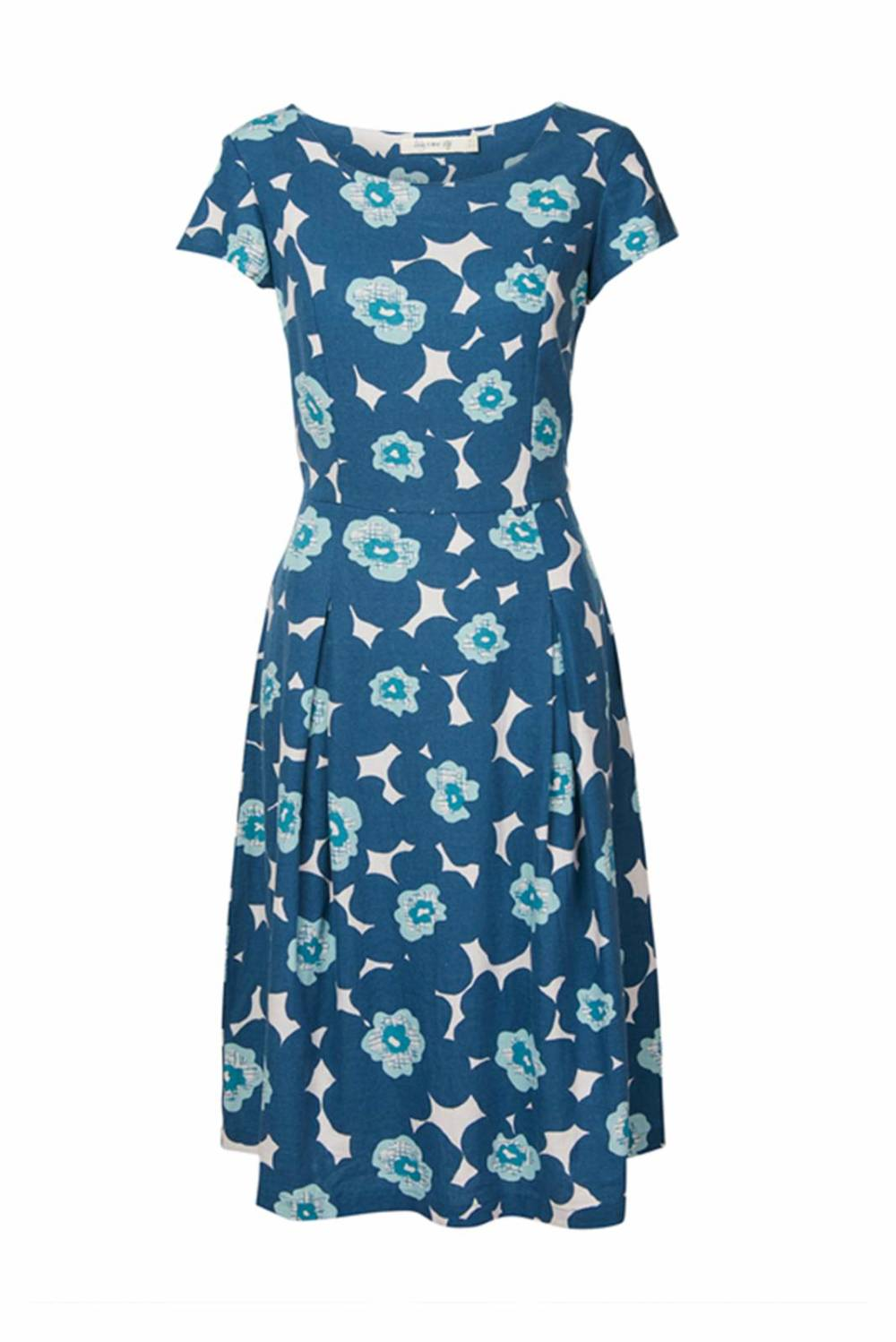 Falmouth Dress Modern Floral Lily and Me Katie Kerr Women's Clothing
