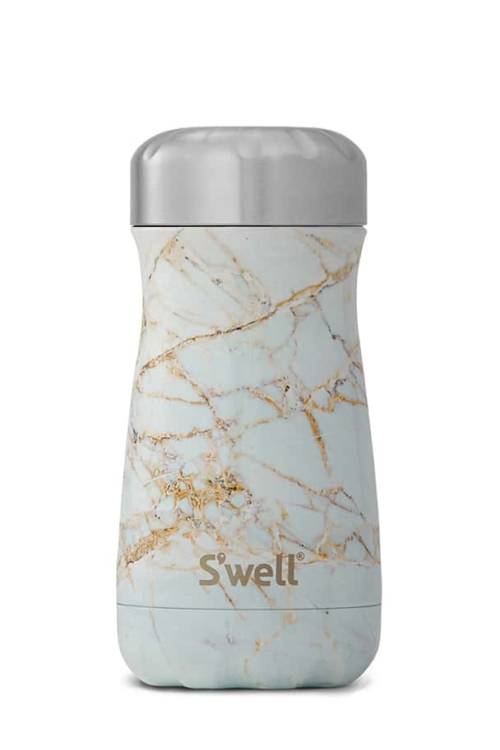 Swell Calacatta Gold 12oz Traveler Bottle