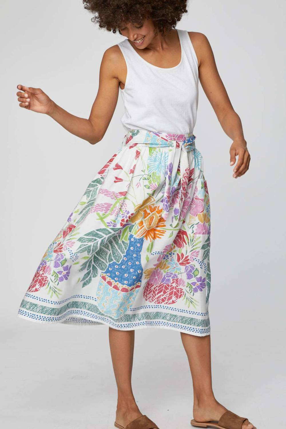 Vases Skirt Thought Clothing Katie Kerr Women's Clothing
