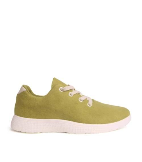 Egos Copenhagen Merino Slippers Lime Green