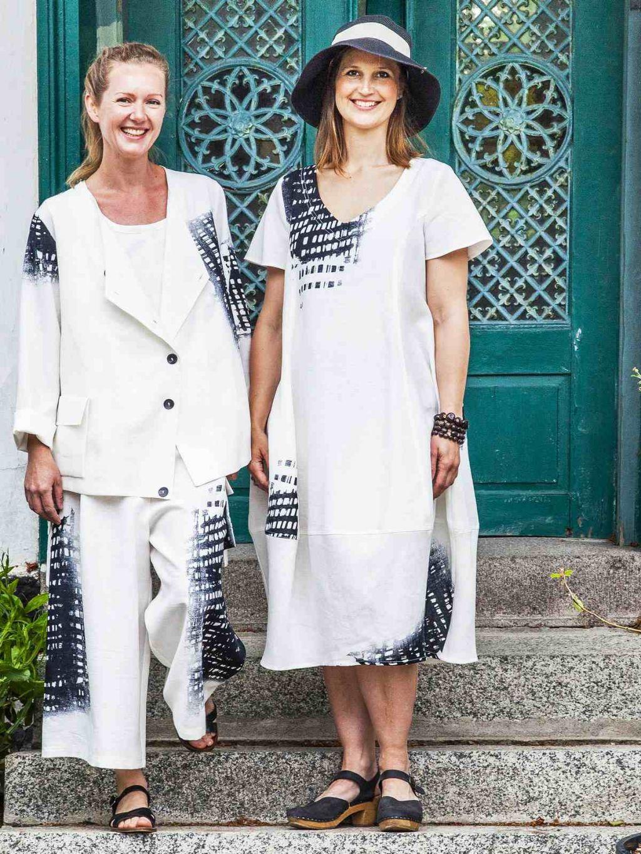 Ralston Opi Dress Off White