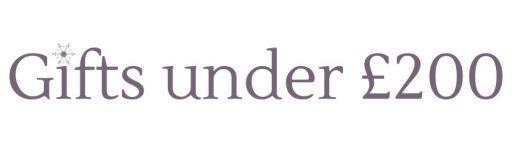 Gifts Under £200 logo